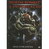 Dvd Mortal Kombat 2 A Aniquilação Original Raro