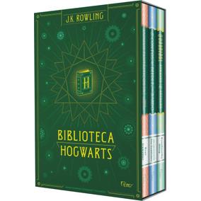Box Biblioteca Hogwarts - Capa Dura (3 Livros) #