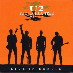 U2 2cd Digipack Joshua Tree Live Berlin 2017 Europa Nuevo