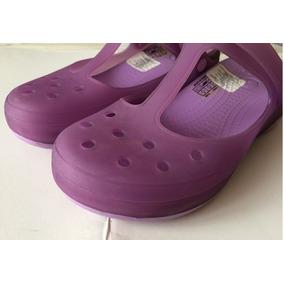 Crocs Originales Mary Jane Morados Dama / Mujer Talla 6 / 36
