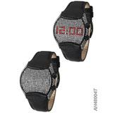 Relógio Feminino Ana Hickmann Ah48004t Preto