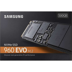 Ssd M2 Samsung 960 Evo 500gb Nvme - 3200mbps Pc/notebook