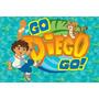 Painel Decorativo Festa Infantil Go Diego Go (mod1)
