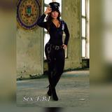 Disfraz Policia Fbi Adulto Mujer Envio Gratis