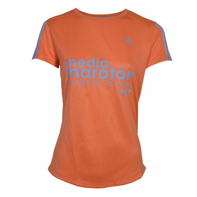Remera adidas Event Mujer Coral