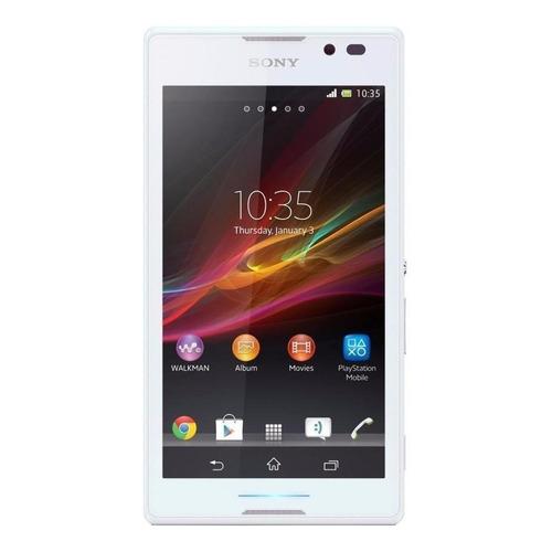 Sony Xperia C Dual SIM 4 GB Branco 1 GB RAM