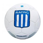Pelota Futbol Racing Academia Nº5 Drb Licencia Oficial