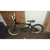 Bicicleta Tipo Cross Bmx Gw Negra Joven-adulto