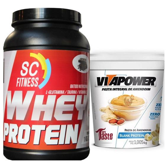 Combo: 1 Whey Proteina Scfitness + 1 Vitapower Choco Blanco