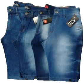 Kit 10 Bermuda Masculina Jeans E Coloridas Preço Atacado Fg