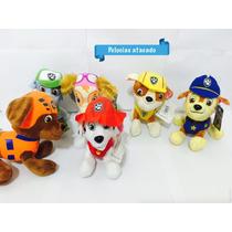 Patrulha Canina De Pelúcia Kit Com 6