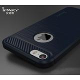 Funda Ipaky Iphone 6 6s Carbono + Cristal Templado