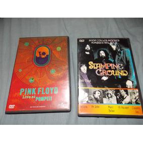 Dvd Pink Floyd Pompeii Stamping Ground Originales