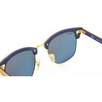 Óculos De Sol Clubmaster Wood Madeira 3016 M Camila