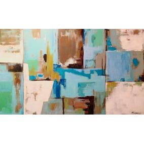 Cuadro Abstracto, Decorativo, Moderno, Acrlilico, Oleo