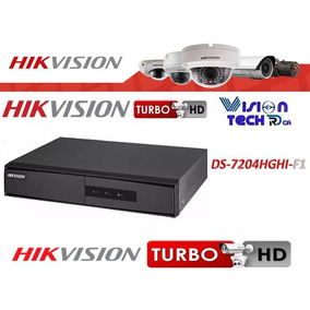 Dvr Hikvision Ds-7204hghi-f1 4 Canales Turbo Hd Tvi H.264