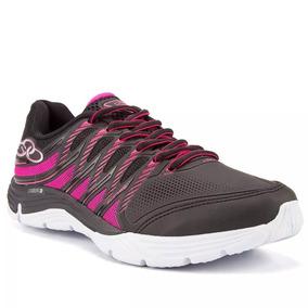 Zapatillas De Mujer Olympikus Supra Preto Pink
