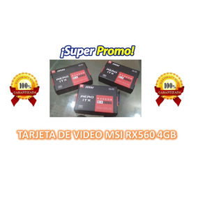 Tarjeta De Video Msi Rx560 4gb Btc Rig Mineria
