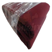 Lona Encerado Ripstop 4,5x1,8 Mts Algodão Vinho Tecido Bordô