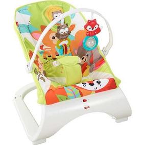 Cadeirinha Bebê Vibração Amigos Do Bosque Cmv29 Fisher Price