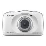 Nikon Coolpix W100 Camara Digital Compacta (color Blanco)