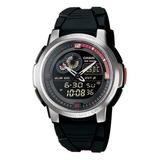 Relógio Masculino Anadigi Casio Aqf-102w-1bvdf - Preto