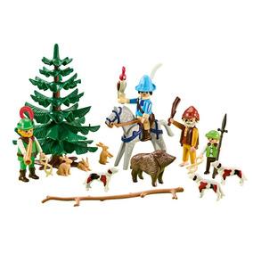 Playmobil 6564 Add On Medieval Festin De Cazadores