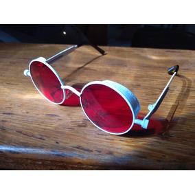 Oculos Steampunk Lente Vermelha - Óculos De Sol no Mercado Livre Brasil 04e8d6e18d