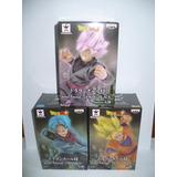 Dragon Ball Set 3 Fig Soul X Soul Black Rose Goku Ss Trunks