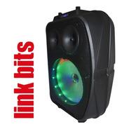 Bocina 8 Pulgadas Bluetooth Y Karaoke,recargable, Con Envio