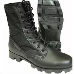 Botas Negras Bombero Y Militar 3e484bfa3fe