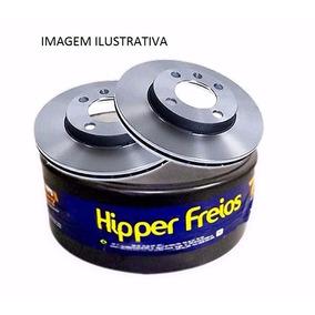 Par De Disco De Freio Dianteiro Kia Bongo K2500 2012/