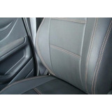Capas Bancos Carro Couro Gm Chevrolet Onix Hatch Lt 1.0 2013