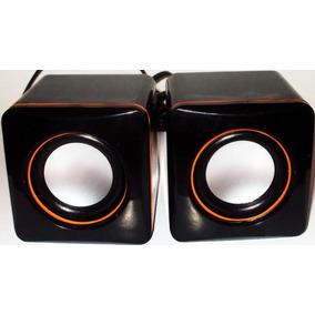 Caixa De Som Para Pc Potente 5w Portatil Celular P2