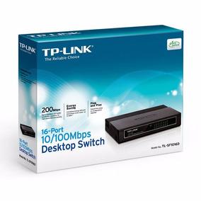 Tp-link Switch Con 16 Puertos De Escritorio Tl-sf1016d