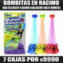 Pack Bombitas De Agua Racimo + Recarga ..santiago Remate