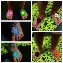 Zapatos Pies Descalzos Tejidos Para Niñas (oferta)
