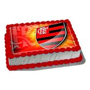Papel De Arroz P/ Bolo Time Flamengo Mengo Urubu Mod.01