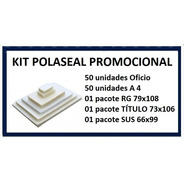 Kit De Polaseal Oficio, A4, Rg, Titulo E Sus