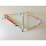 Quadro Bike 26 Wny Branco Tam 17 Aluminio