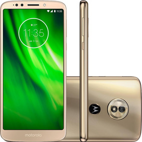 Celular Motorola Moto G6 Play Xt1922 Cor Ouro 32gb Dual Chip