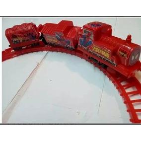 Pista De Tren Electrica , Juguete Niños-spider