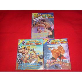 Lucha Libre Lote De 3 Revistas Sensacional De Luchas Años 90