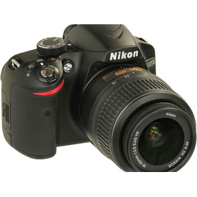 Camara Nikon D3200 Kit (cámara + Lente Adicional + Cuerda)