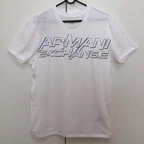 Blusa Armani Exchange Malha Camisa Masculina 100% Original