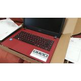 Remate! Laptop Acer Roja Nueva A314-31-c12q