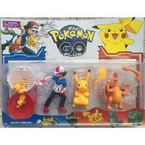 Brinquedo Pokemon Go Kit Com Pokebola