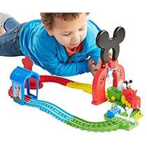 Juguete Fisher-price De Disney Mickey Mouse Mouska Tren Exp
