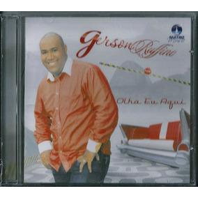 Cd Gerson Rufino - Olha Eu Aqui   C15