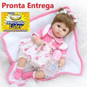 Boneca Bebe Reborn Laura Linda - Promoção